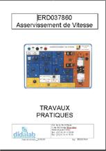 Guide d'utilisation de l'asservissement de vitesse ERD 037 860 1/4