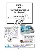 Manuel de Travaux Pratiques, niveau BAC + 2, (sujets), asservissement de vitesse et position  (Réf - ERD050050) 1/4