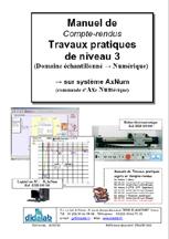 Manuel de Travaux Pratiques, niveau STS, DUT, ingénieurs (compte-rendus), Etude des asservissements de position dans le domaine échantillonné, numérique (Réf - ERD150060) 1/4