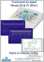 Manuel de Travaux Pratiques, Traitement de signal, Niveau III et IV CITE 2011, BAC (Sujets & comptes rendus), (Réf ETD410020) 1/4