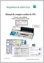 Manuel comptes rendus, débit d'air dans le domaine continu, Niv. IV/V CITE 2011 (Ref : ERD540040) 1/4