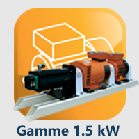 Gamme 4, 1.5 kW