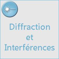 DIFFRACTION ET INTERFERENCES