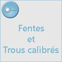 Fentes et Trous
