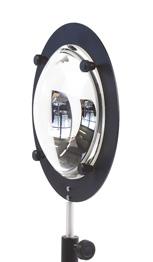 Miroir plan de diamètre 15 cm : POD070340 1/4