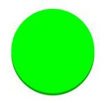 Filtre dichroïque Vert : POD061933 1/4