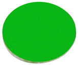 Tinted glass filter, green: POD061924 1/4