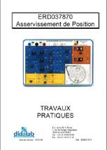 Guide d'utilisation de l'asservissement de position ERD 037 870 1/4