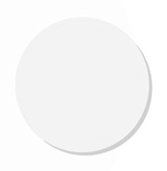 Circular frosted glass, diam. 80mm : POD066386 1/4