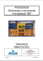 Manuel d'utilisation du module redresseur monophasé PED020500 (Ref - PED020510) 1/4