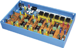 VLV 3-phase thyristorised rectifier / assisted inverter - Training board (ref: PED020600) 1/4