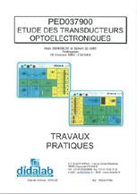 Manuel d'utilisation des modules Transducteurs Optoélectroniques (Ref - PED037900Man) 1/4