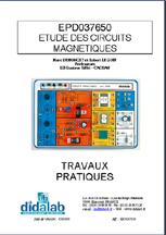 Manuel d'utilisation du module d'étude des circuits magnétiques (Ref - EPD037650_Man) 1/4