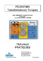 Manuel d'utilisation du module d'étude des transformateurs toriques (Ref - PED037460_Man) 1/4