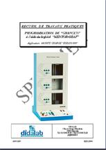 Manuel de Travaux Pratiques appliqué à l'ESD250000, monte Charge 18 entrées sorties à commande par grafcet (Réf - ESD250040) 1/4