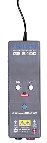 Sonde différentielle : PMM063950 1/4