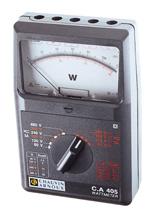 Wattmètre analogique, mono et triphasé : PMM069531 1/4