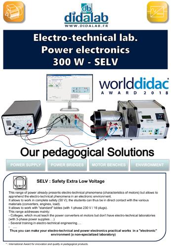 Presentation of the SELV 300-W range 2/4