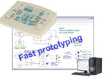 Real-time DSP signal processing, rapid prototyping, graphical compiler - Training module (ref: ETD410000) 1/4