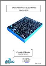 Basic analog functions - Practical works manual (ref: EAD110041) 1/4