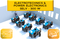 EXAMPLE OF LABORATORY: POWER ELECTRONICS AND ELECTROTECHNICS - 300 W SELV : LABO5_gb 1/4