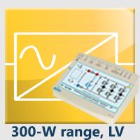Range 3: 300 W Low voltage