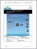 Streaming server & VOD - Practical works (ref: ETR400081) 1/4