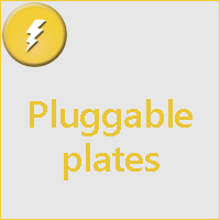 Pluggable plates