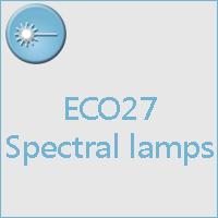 Spectral lamp E27
