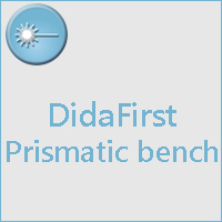 Prismatic Optical bench, didaFirst