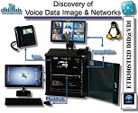 Discovery of Voice Data Image (VDI) convergence & network architecture - Laboratory (ref: ETR300STID2D) 1/4