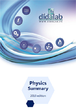Physics products, booklet 1/4