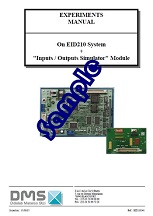 Inputs/Outputs simulator (with EID210) - Practical works manual (ref: EID211041) 1/4