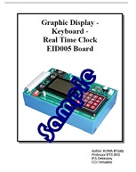 MMI (graphic display device & 16-pad keypad) (with EID210) - Practical works manual (ref: EID215041) 1/4