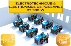 Laboratoire Type d'Electronique de Puissance / Electrotech. 300W BT : LABO5bis_EP300W 1/4
