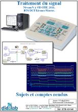 Manuel de TP, traitement du signal, niveau V à VII CITE 2011, BTS/DUT/Licence/Maitrise (Réf : ETD410040) 1/4
