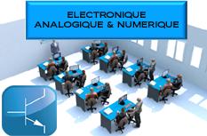 Laboratoire Type d'Electronique analogique et numérique : LABO1_ELECTRONIQUE 1/4
