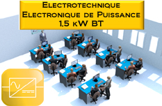 Laboratoire Type d'Electronique de Puissance / Electrotech. 1500W : LABO6_EP1500W 1/4
