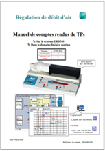 Manuel comptes rendus, débit d?air dans le domaine continu, Niv. IV/V CITE 2011 (Ref : ERD540040) 1/4