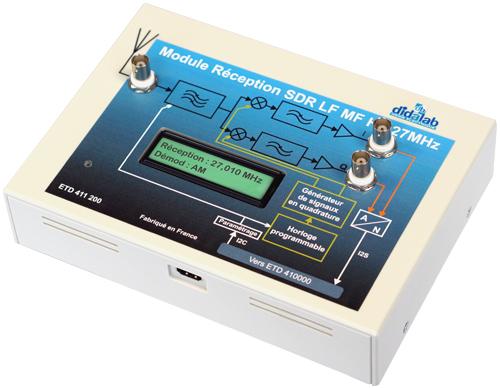 Module optionnel de réception LF, MF et HF 27 MHz 2/4