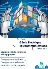 Présentation de la gamme Génie Electrique / Télécoms 1/4