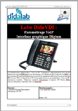 Manuel de Travaux Pratiques : Paramétrage VoIP via interface graphique Digium (RéF : ETR400020) 1/4