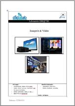 Manuel de Travaux Pratiques : imageries & Vidéo (réf : ETR400030) 1/4
