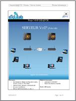 Manuel de Travaux Pratiques : Serveur VoIP en lignes de commande, (Réf : ETR400070) 1/4