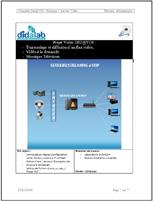 Manuel de Travaux Pratiques : Serveur Streaming et VOD, (Réf : ETR400080) 1/4