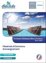 Présentation de la gamme Systèmes & Energies Renouvelables 1/4