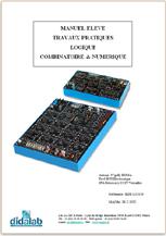 Manuel de Travaux Pratiques sujets (étudiants) de logique numérique câblée (ref - EDD120050) 1/4
