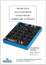 Manuel de Travaux Pratiques sujets (étudiants) de logique combinatoire (ref - EDD100050) 1/4