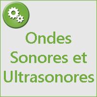 ONDES SONORES ET ULTRASONORES