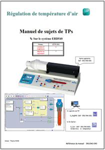 Manuel sujets, température d?air, Niv. VI/VII CITE 2011 (Ref : ERD540090) 1/4